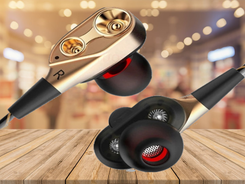 Dual Driver Dynamic Earbuds