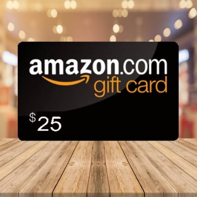 $25 Amazon E Gift Card Giveaway